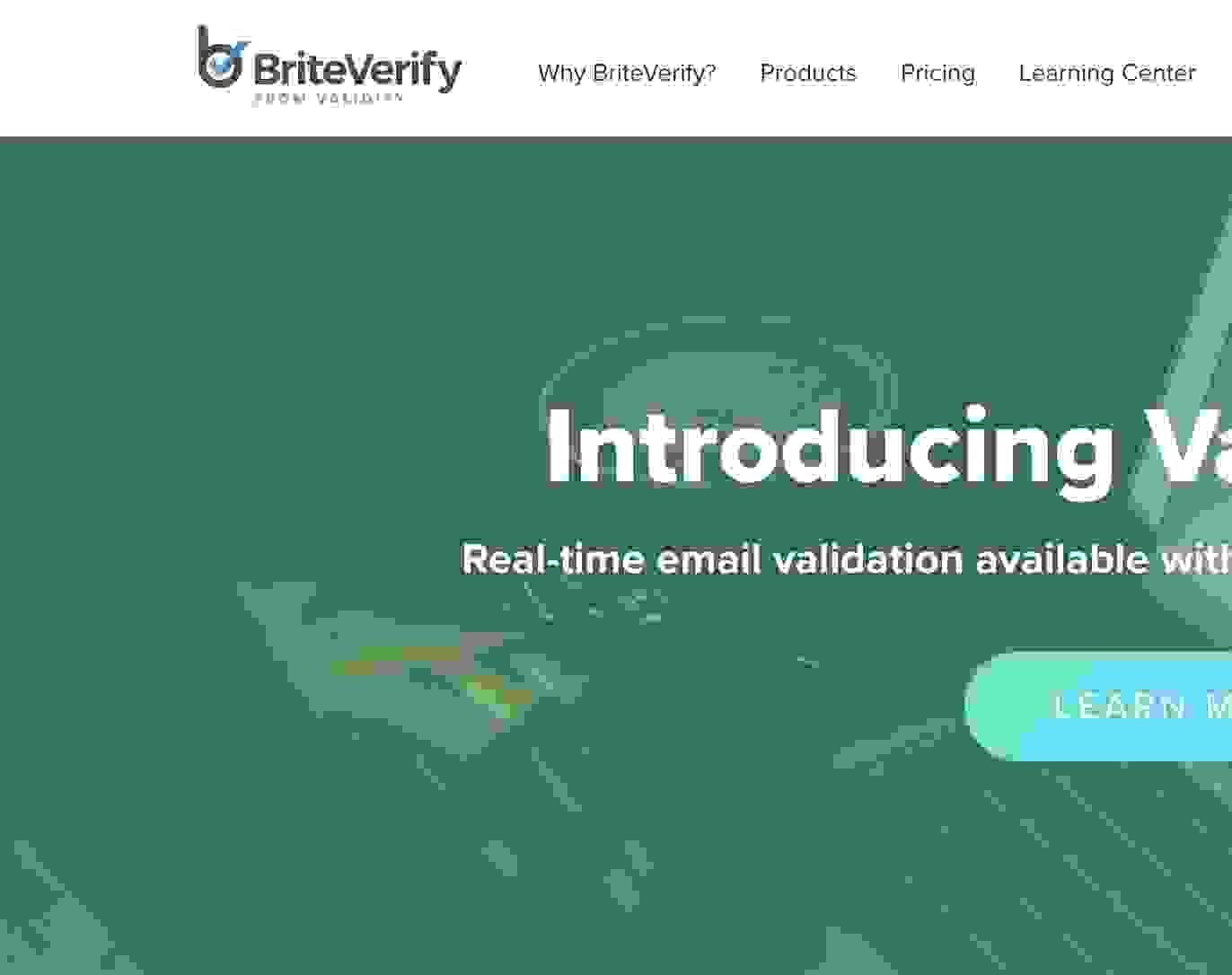 briteverify screenshot