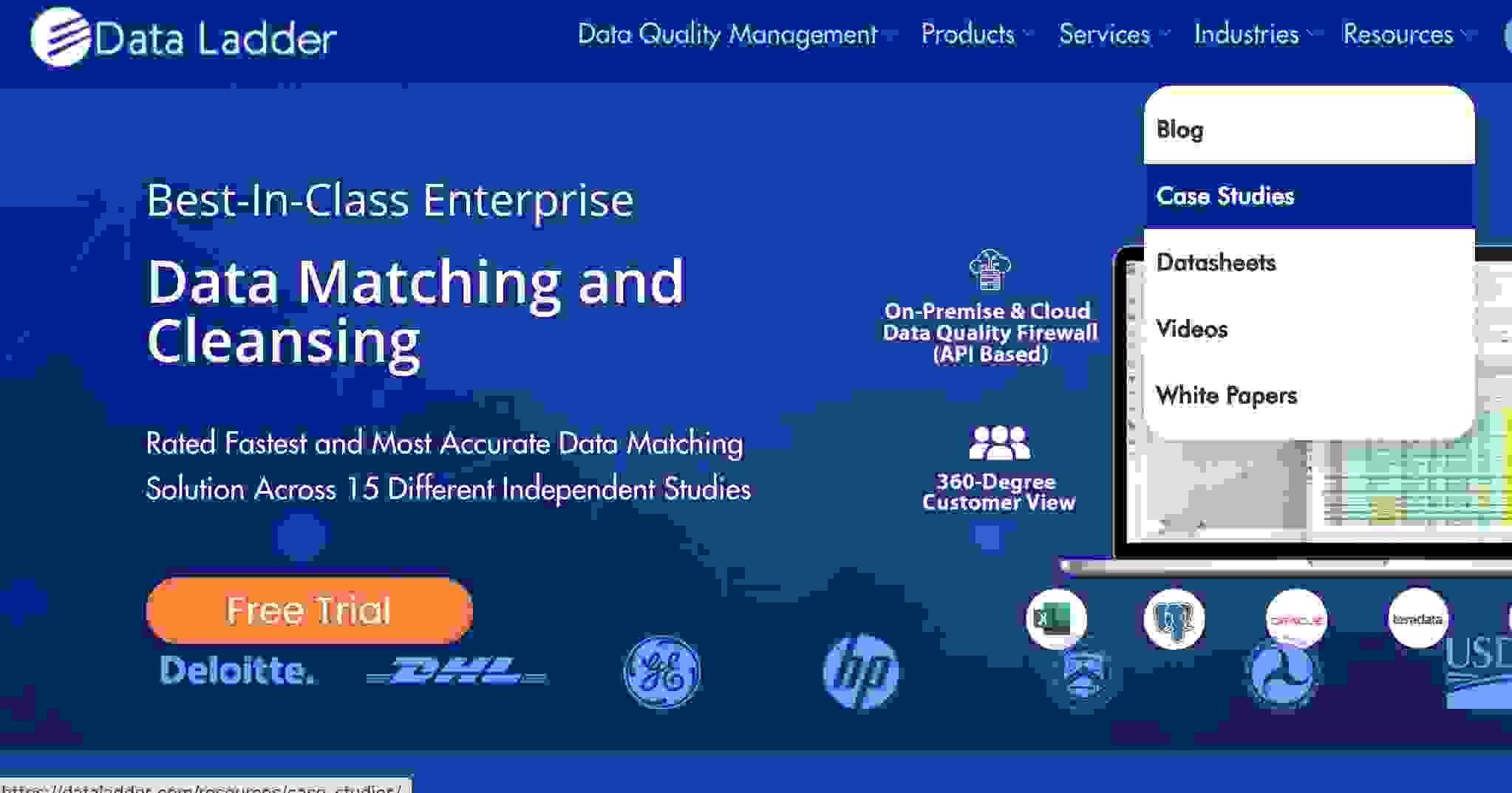 dataladder screenshot