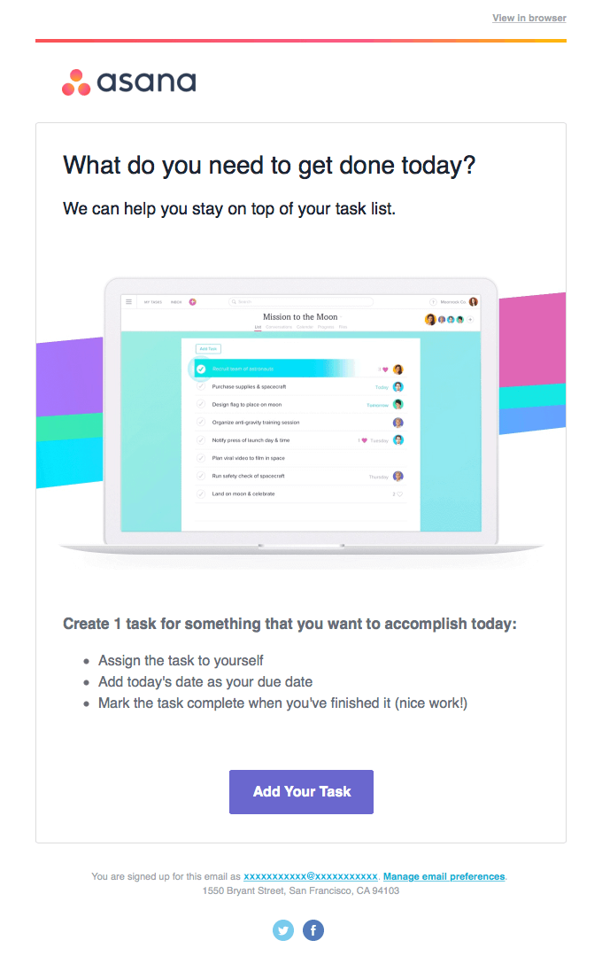Welcome Sequence for better email list management